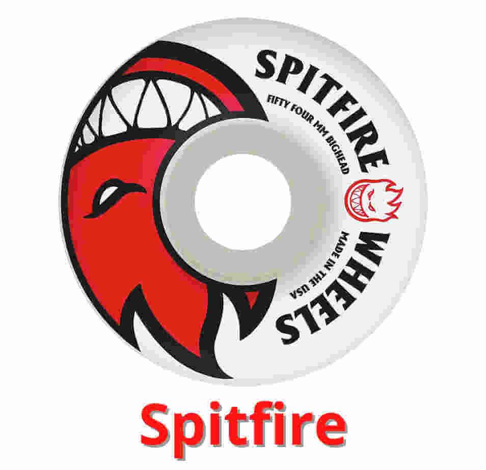 Spitfire hard skateboard wheels