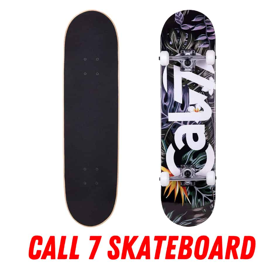 cal 7 skateboard review